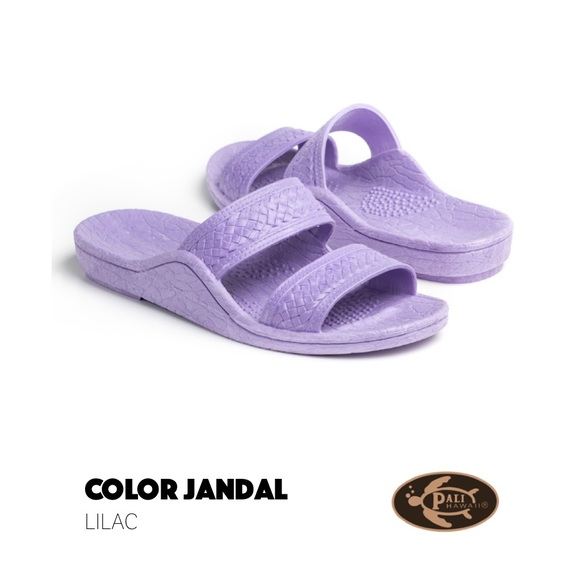 e5b898927bf5 NWT Authentic Pali Hawaii Jesus Sandals Lilac